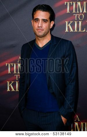 NEW YORK- OCT 20: Actor Bobby Cannavale attends the Broadway opening night of 'A Time To Kill' at The Golden Theatre on October 20, 2013 in New York City.