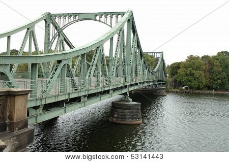 Glienicker Bridge In Potsdam