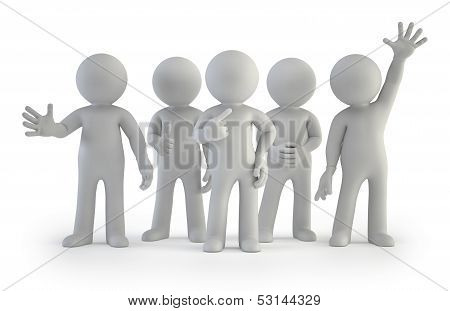 3D Small People - Best Group