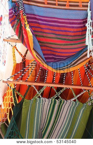 Hammocks at the Otavalo Market