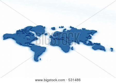 World Map Flat5