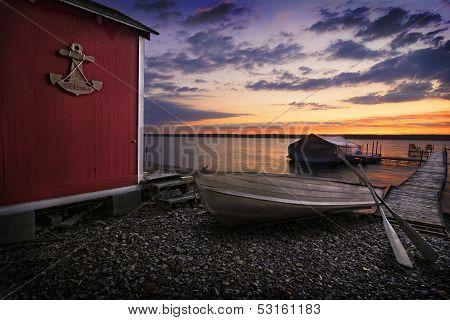 Lake Cayuga Sunrise