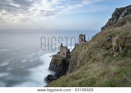 Tin Mines On The Cornish Coast