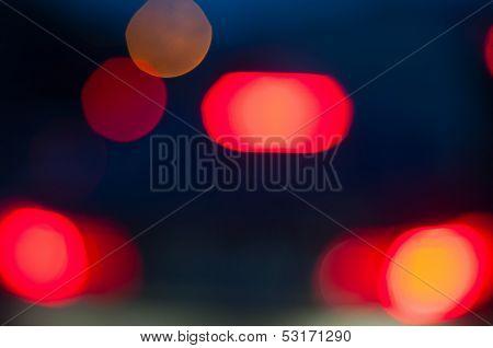 Stoplights Boke