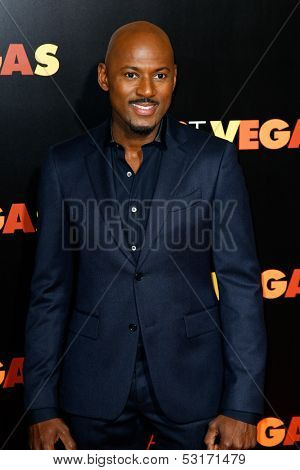 NEW YORK- OCT 29: Actor Romany Malco attends the premiere of 'Last Vegas' at the Ziegfeld Theatre on October 29, 2013 in New York City.