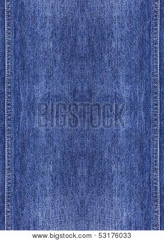 Bluejeans Has Specific Texture