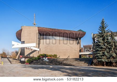 Modern Church In Krakow, Poland