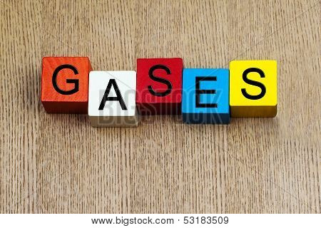Gases - Sign Series For Science