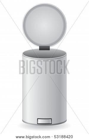 Dustbin Vector Illustration