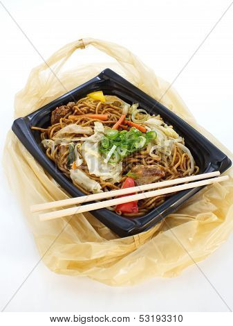 Yakisoba, japanese stir-fried noodles