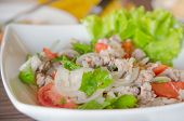 foto of thai cuisine  - close up Thai style cuisine  - JPG