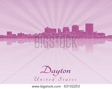 Dayton Skyline In Purple Radiant Orchid