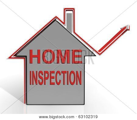 Home Inspection House Means Examine Property Safety And Quality
