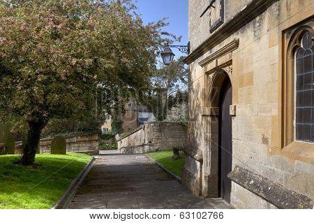 Cotswold Churchyard