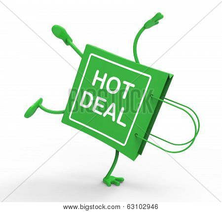 Hot Deal On Handstand Shopping Bag Shows Bargains Sale And Save