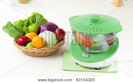 fruit and vegetable ozone cleaner machine