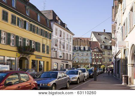 Colmar Cityscape In Alsace, France