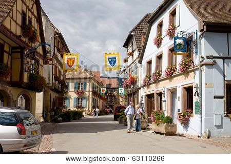 Eguisheim Village In France