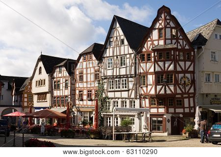 Cityscspe Of Limburg An Der Lahn In Germany