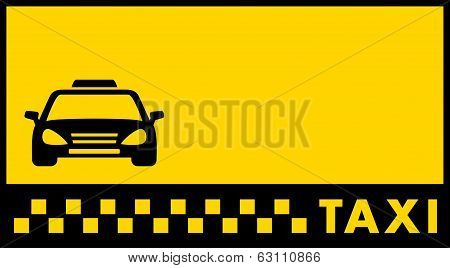 backdrop for taxi visiting card