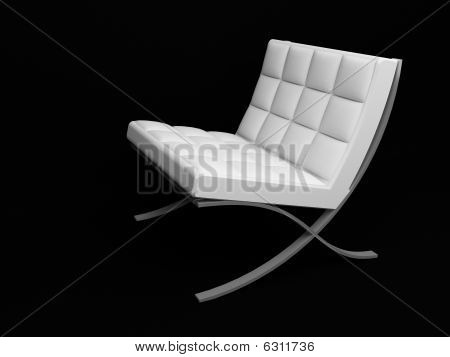 3D Render Of Couch