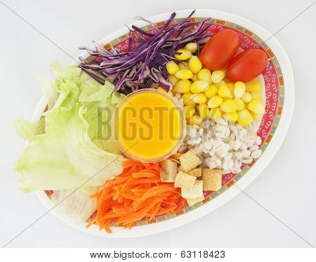 Salad With Dressing