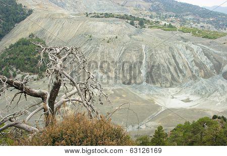 Asbestos Mining, Platres, Cyprus