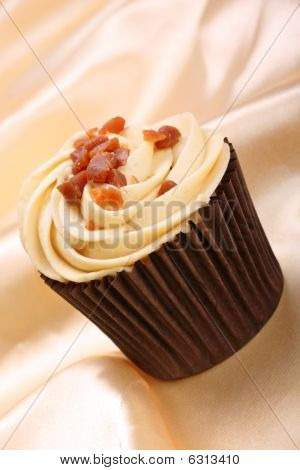 Banana And Toffee Cupcake