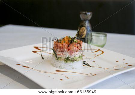 creative sushi roll