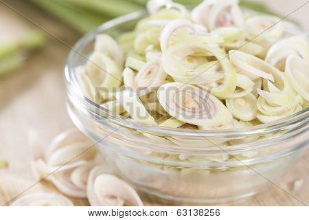 Heap Of Fresh Lemon Grass