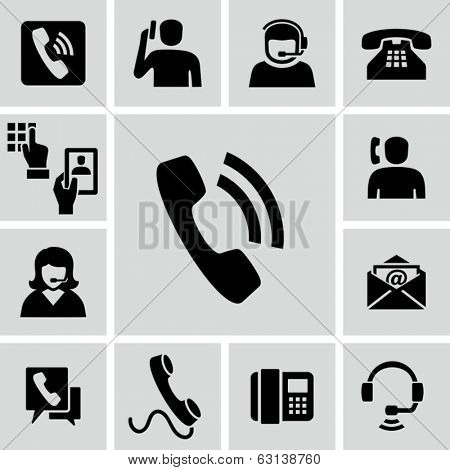 Phone calling icons