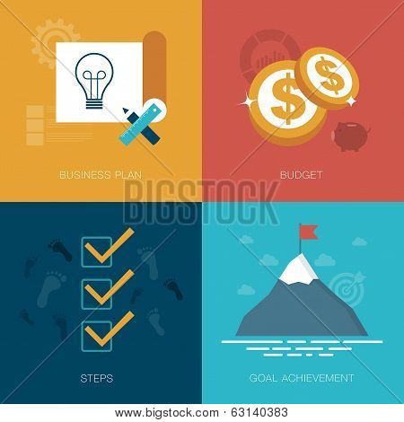 vector business success concept illustration