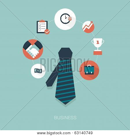 vector business concept illustration