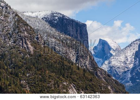 El Capitan And The Half Dome I