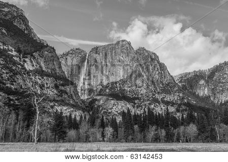 Yosemite Valley And Upper Yosemite Falls