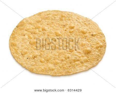 Tostada (with Clipping Path)