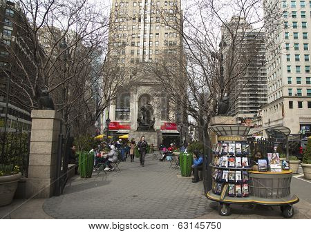 Herald Square on Broadway in Manhattan