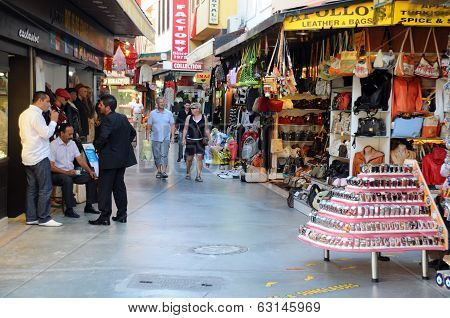 Market Area In Kusadasi