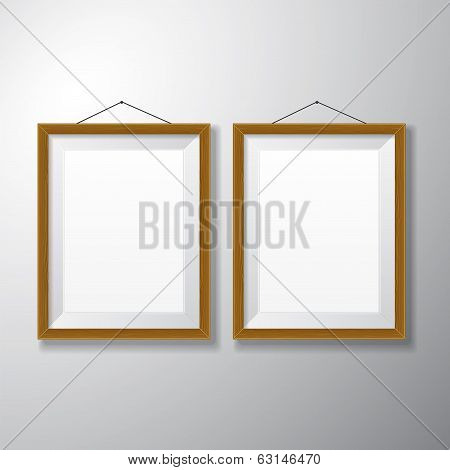 Picture Frames Wooden Vertical