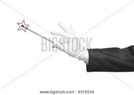 Holding A Magic Wand