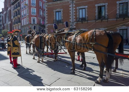 Carriage of the government of Spain