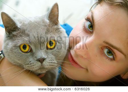 Green Eyes And Orange Eyes