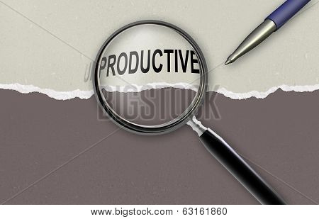 Changing The Word Unproductive For Productive