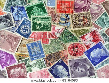 Reich stamps