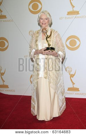 LOS ANGELES - SEP 22: Ellen Burstyn in the press room during the 65th Annual Primetime Emmy Awards held at Nokia Theater L.A. Live on September 22, 2013 in Los Angeles, California