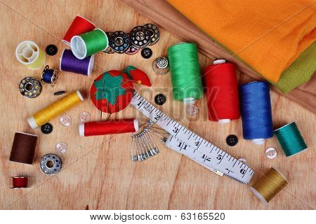 Sewing Background Items