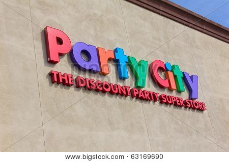 Party City Store Exterior Sign