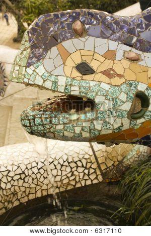 Gaudi's dragon
