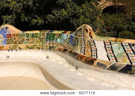 Guell park seats