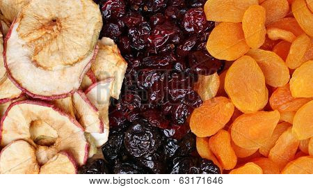 Healthy Diet Dried Fruit Background